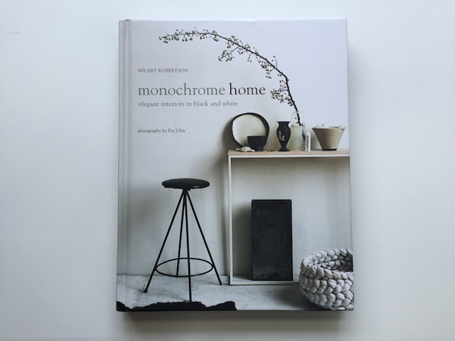 Book review Monochrome home by Hilary Robertson