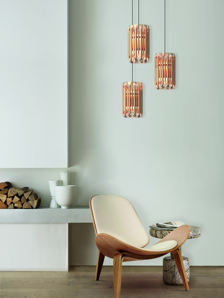 design within a basic interior | design binnen een basic interieur| delightfull MATHENY PENDANT/SUSPENSION