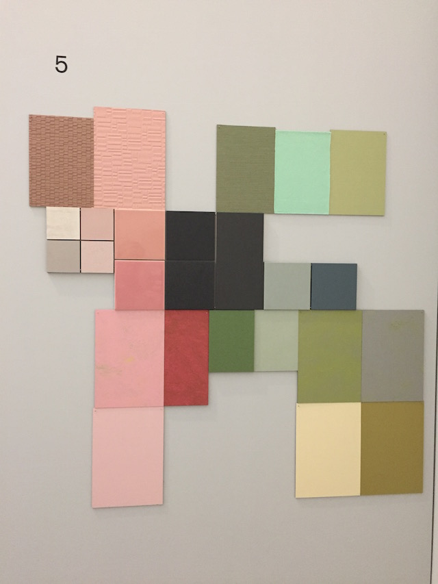 DDW16   Material and color   Van Abbe museum   Aristotle's room