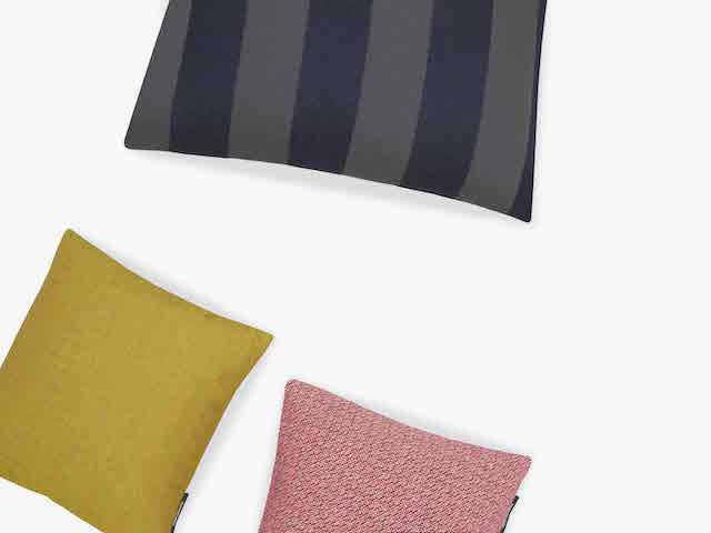 Raf Simons | Kvadrat | Reflex Pulsar Fuse | Cushion + Textile collection