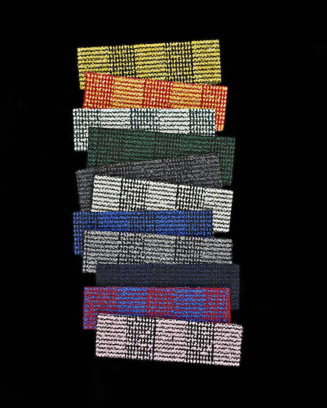 Raf Simons | Kvadrat | Reflex Pulsar Fuse textile collection
