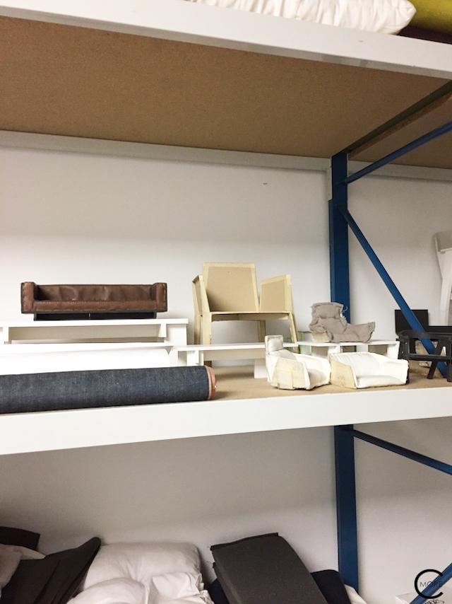 Samples at Piet Boon Studio