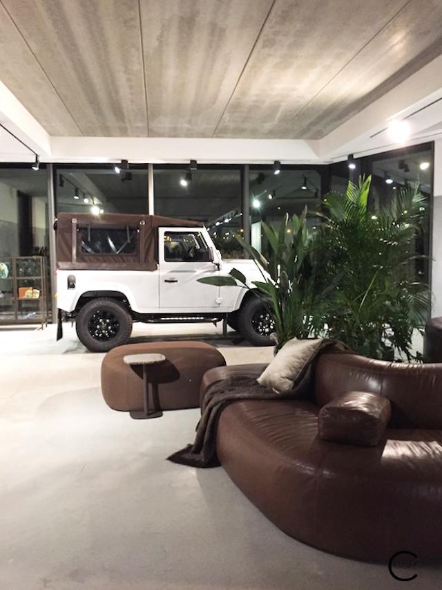 Beautiful sofa at Piet Boon Studio