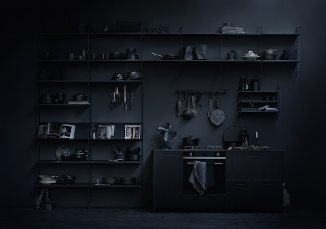 String System | Black | Kitchen
