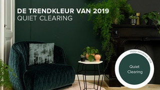 Trend color 2019 | Histor | Quiet Clearing | Dark green