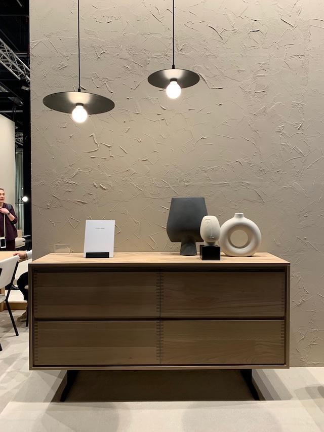 Pantoufle Cabinet + Nod Pendant Lamp | Studio Henk | Dutch furniture design brand | Picture by C-More